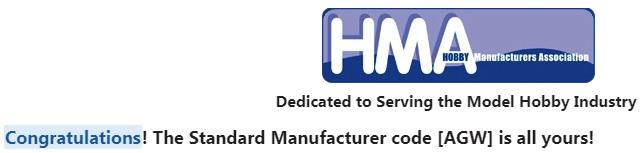 Standard Manufacturer Code