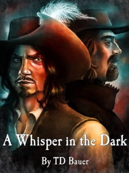 A Whisper in the Dark, book cover