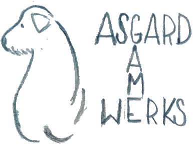 Asgard Gamewerks logo - Rough around the edges, a work in progress